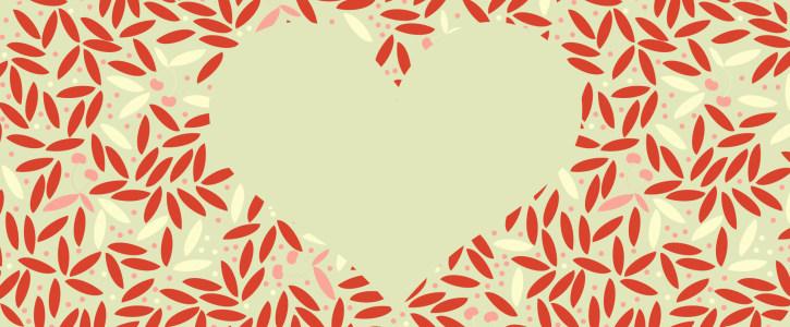 简约红色树叶纹理背景高清背景图片素材下载