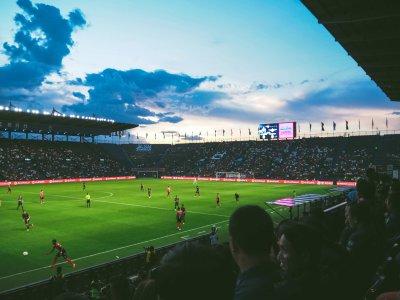 足球高清背景
