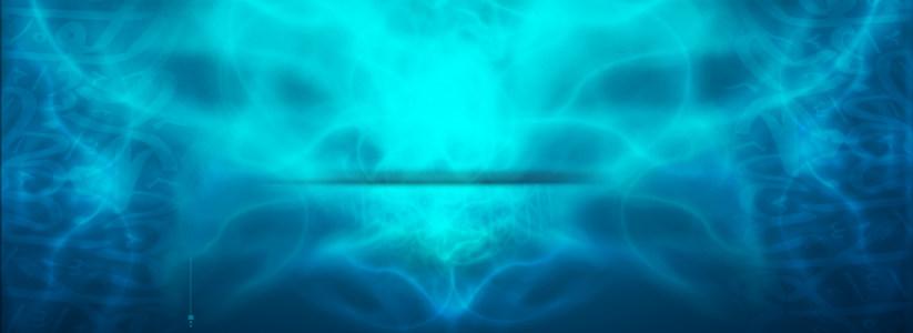 魔幻蓝色背景