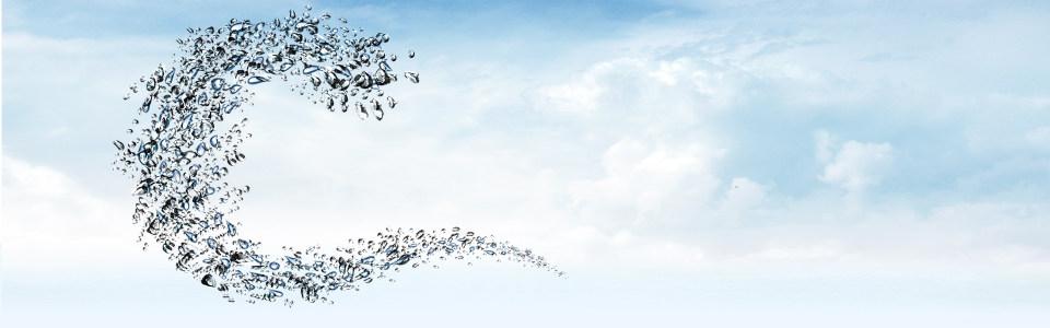 蓝色清晰水珠淘宝全屏高清背景图片素材下载