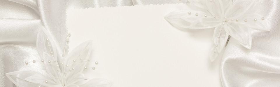 婚纱白色唯美背景banner