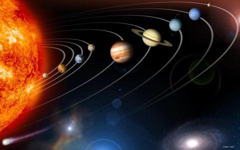 太阳系行星背景高清背景图片素材下载