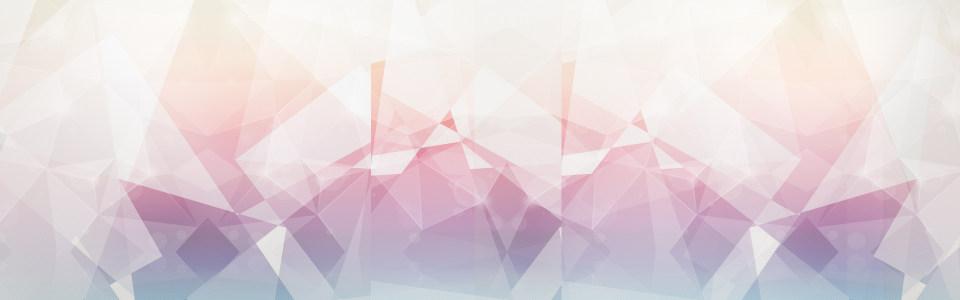 几何图形banner背景