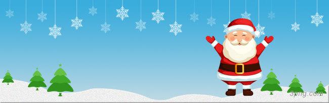 淘宝圣诞海报背景高清大图-淘宝背景Banner海报