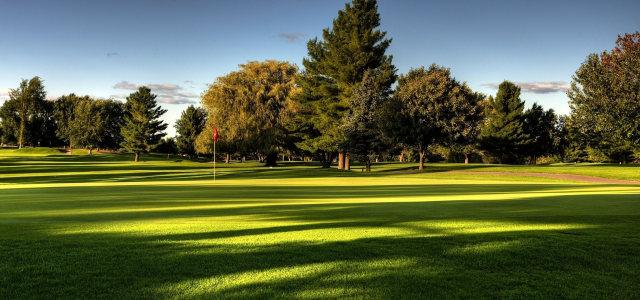 高尔夫球场摄影