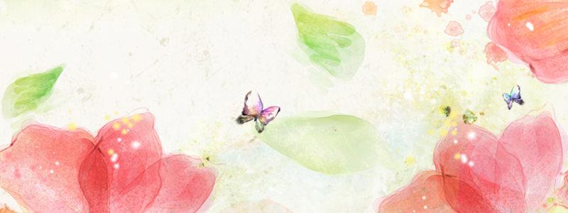 淘宝婚纱礼服裙子促销banner海报
