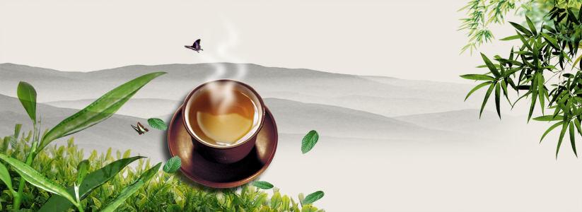 茶叶广告背景