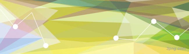 彩色几何形banner背景背景高清大图-几何形背景扁平/渐变/几何