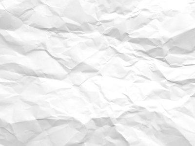 白色摺皱纸张纹理背景