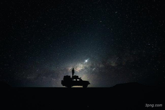 星空夜景背景背景高清大图-夜景背景高光/光斑/星空