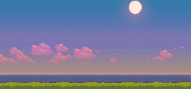 卡通天空背景