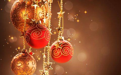 圣诞礼物与装饰品