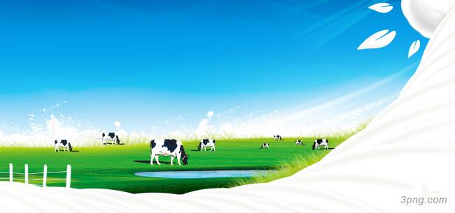 牛奶宣传广告背景高清大图-牛奶背景底纹/肌理