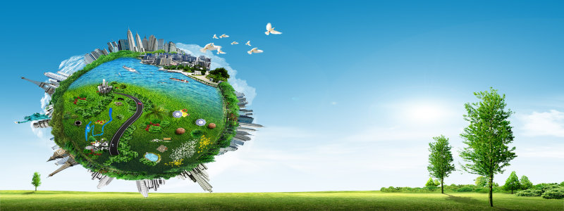 地球城市背景高清背景图片素材下载