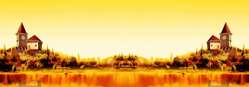 秋天背景高清背景图片素材下载