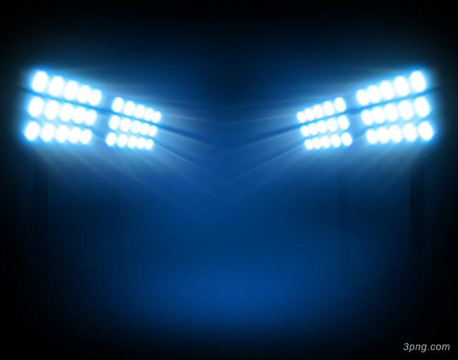 体育场的灯光背景背景高清大图-体育场背景场景/舞台