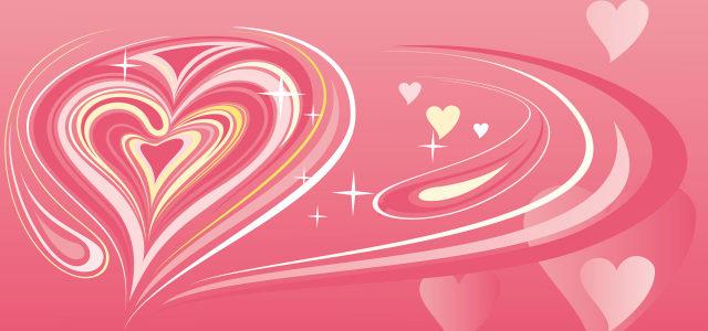 情人粉色浪漫幸福背景图
