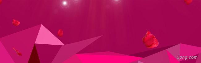 双11电商促销多边形banner背景背景高清大图-电商背景扁平/渐变/几何