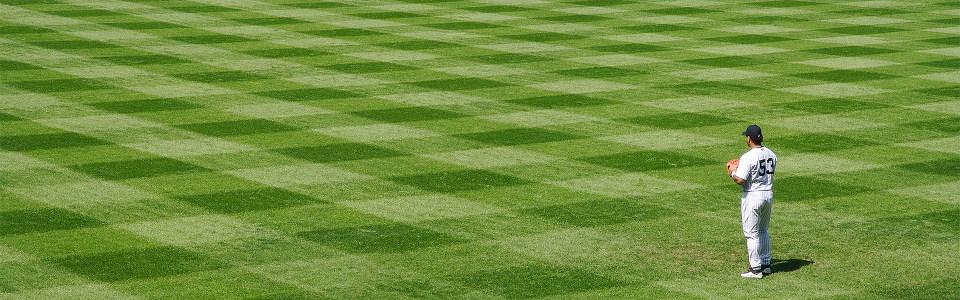 棒子棒球场地背景图