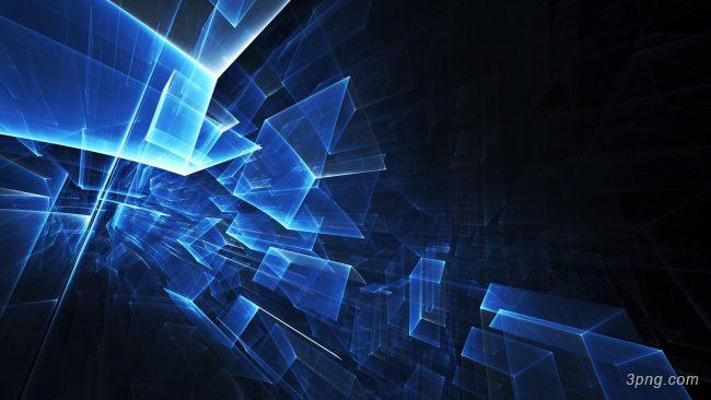蓝色抽象炫光背景背景高清大图-抽象背景特效图片