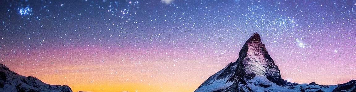 唯美 星空背景