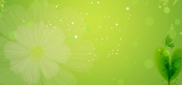 绿色春季背景