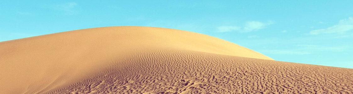 沙漠banner创意设计