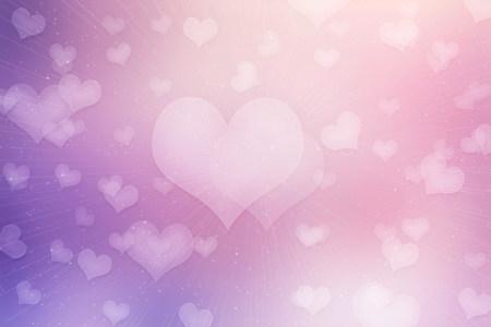 浪漫情人节爱心背景