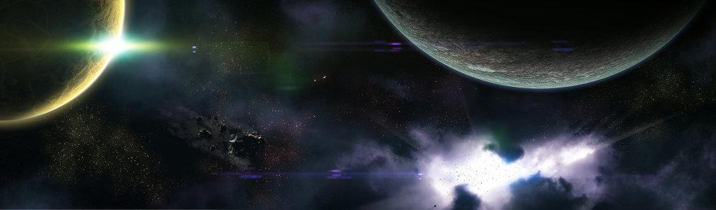 星球夜空淘宝海报背景
