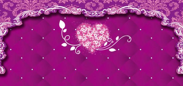 紫色婚礼背景高清背景图片素材下载