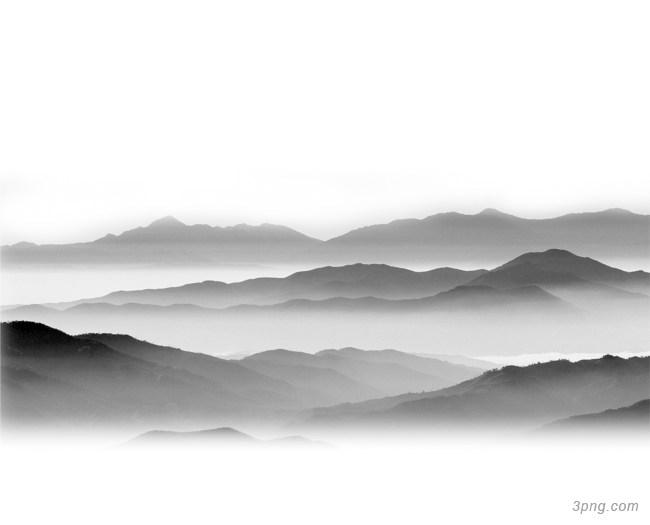 水墨山水背景背景高清大图-水墨背景自然/风光