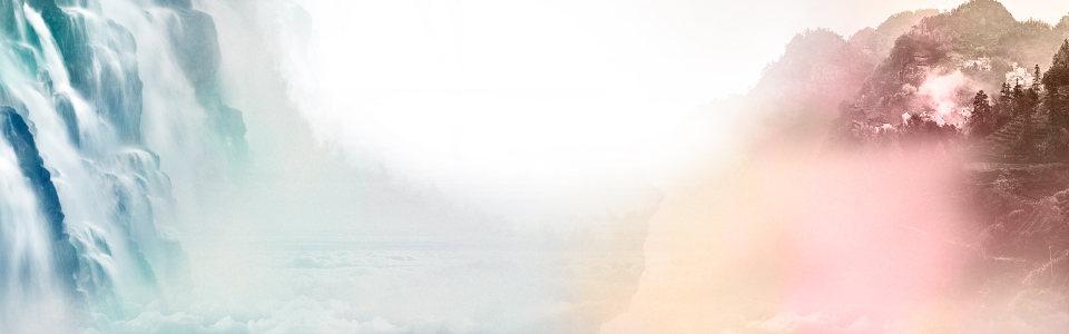 水墨山川背景高清背景图片素材下载