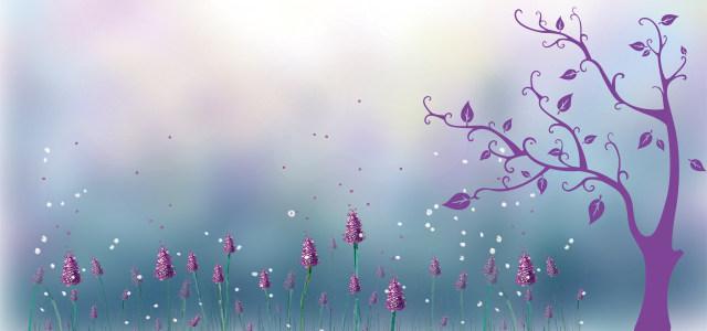 紫色主题背景
