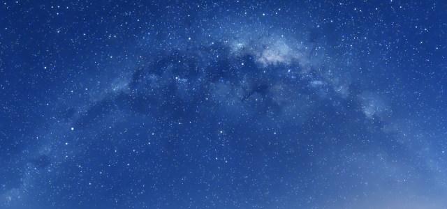 蓝色星空背景高清背景图片素材下载