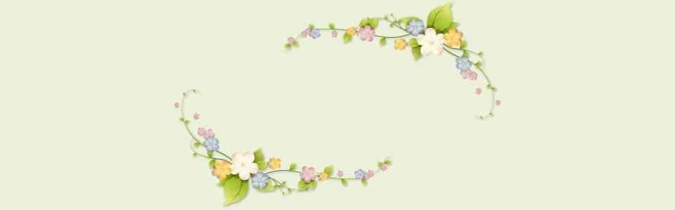 唯美小清新花朵背景海报高清背景图片素材下载