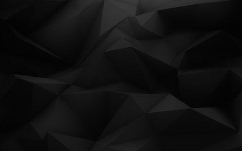 黑暗立体三角几何背景高清背景图片素材下载