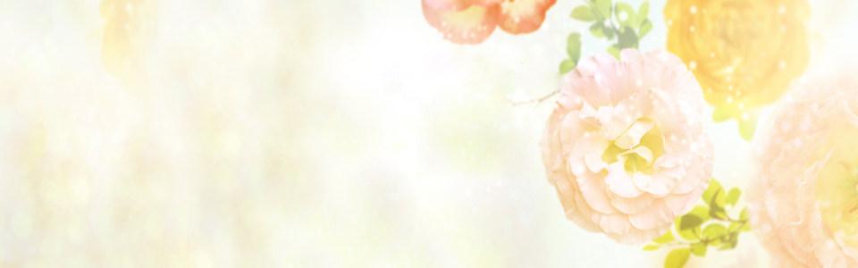 花朵背景海报