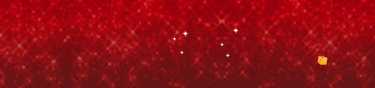 双11红色光晕星星背景banner