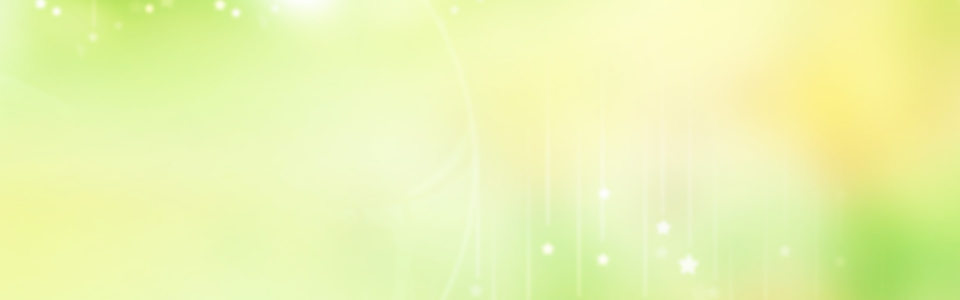 可爱 黄绿色背景