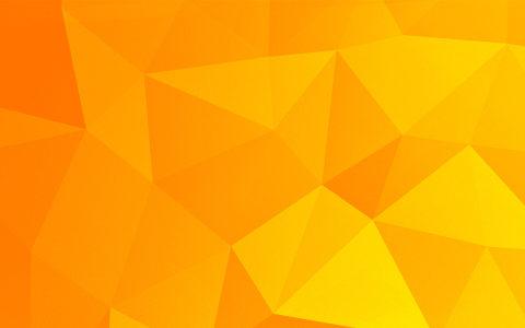 橙色三角几何背景