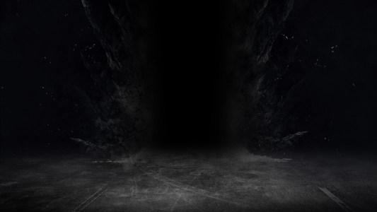 黑暗场景背景