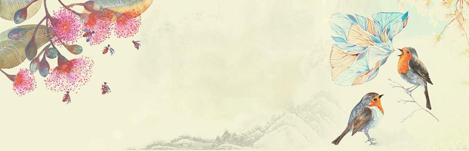 复古淘宝广告banner