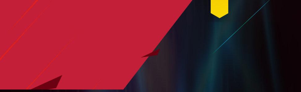 红黑科技笔记本炫酷banner