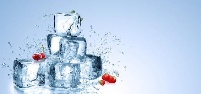 冰块水果背景高清背景图片素材下载