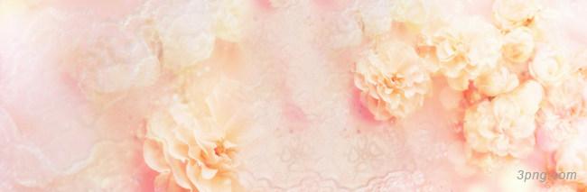 粉色花卉唯美背景banner背景高清大图-粉色背景淡雅/清新/唯美