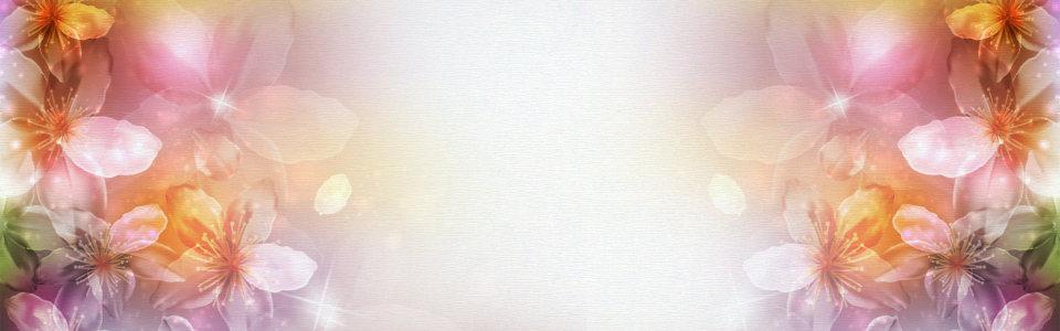 梦幻花朵背景高清背景图片素材下载