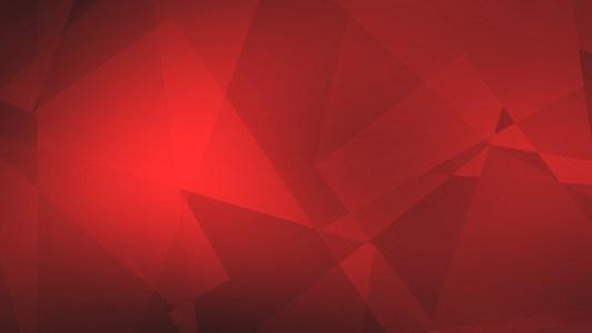 红色几何背景