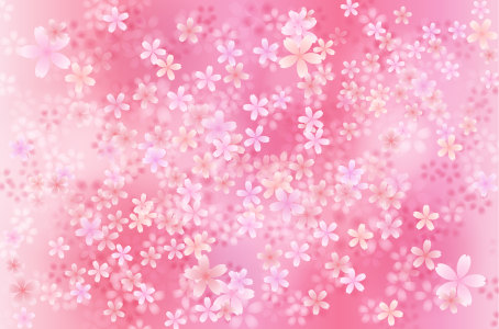 樱花无缝背景