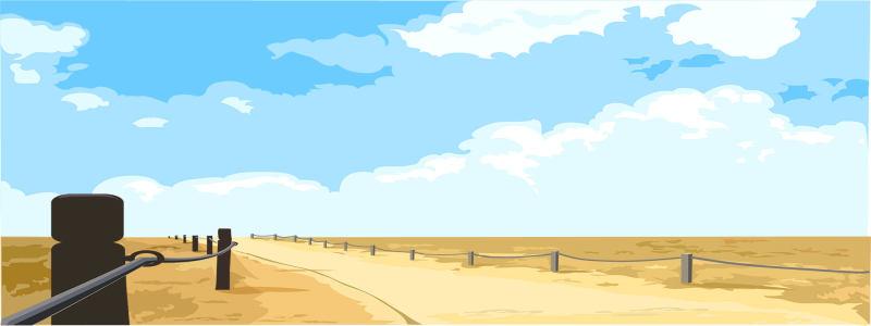 夏日公路背景