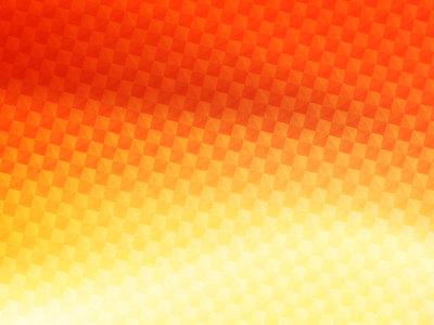 橙黄色渐变几何背景